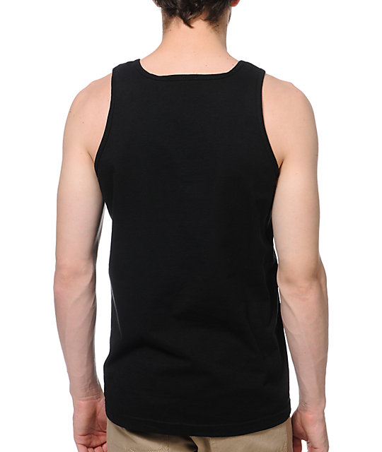 Obey Nine Nickel Black Tank Top