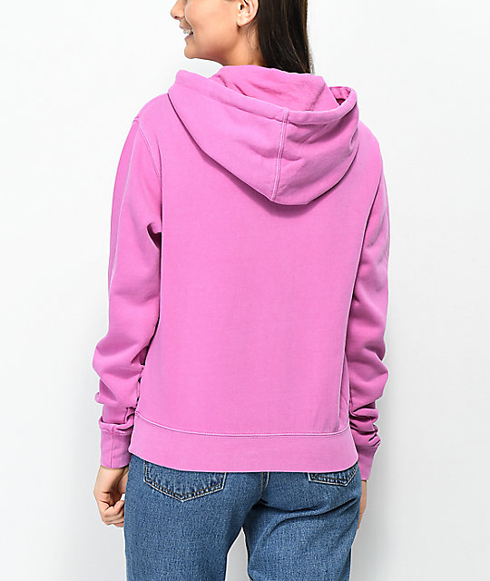 Obey No One Dusty Violet Hoodie