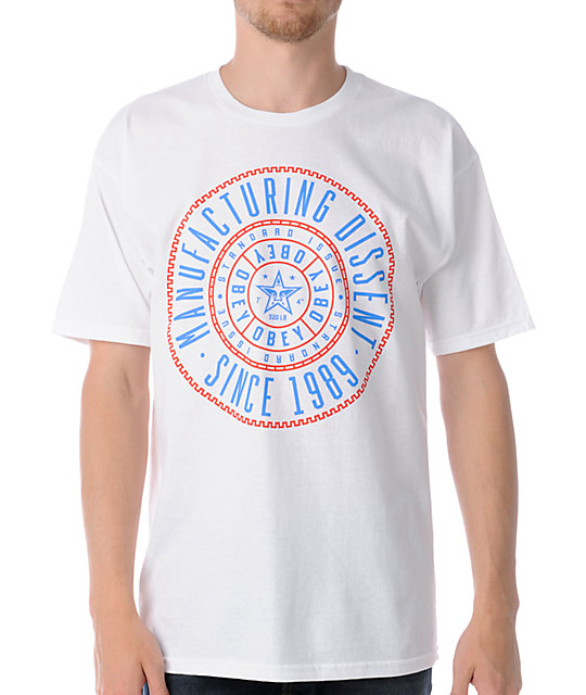 Obey Notary White T-Shirt