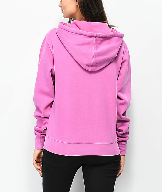 Obey Novel 2 Dusty Violet Hoodie