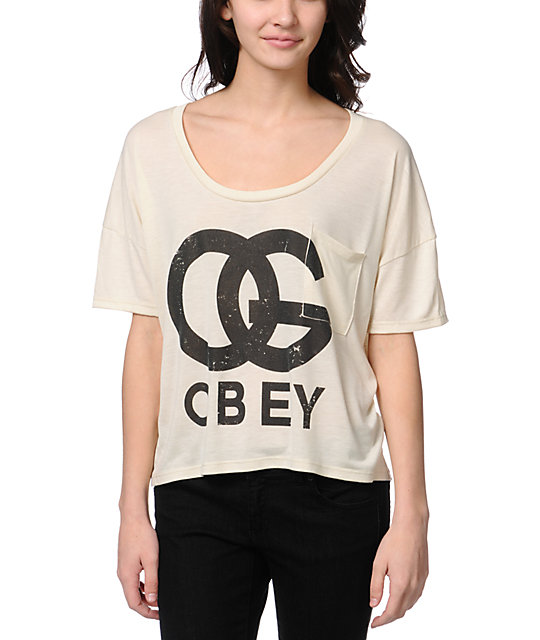 Obey OG Forever Natural Gym T-Shirt