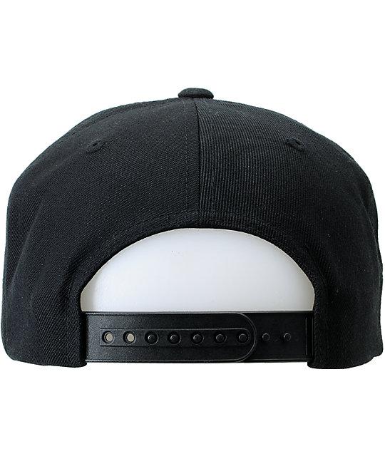 d50414c166e ... Obey Original Black Snapback Hat