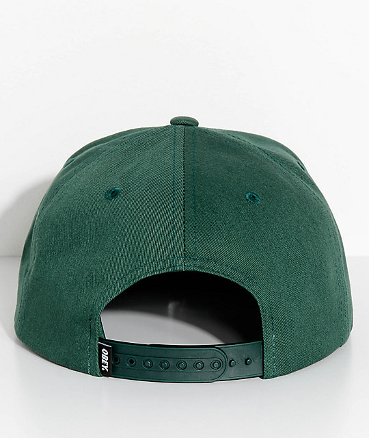 Obey Paramount Spruce Green Snapback Hat