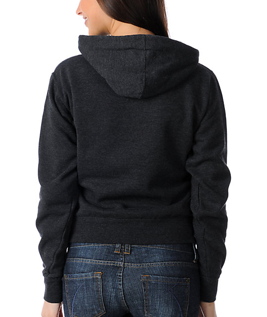 Obey Pegasus Charcoal Pullover Hoodie