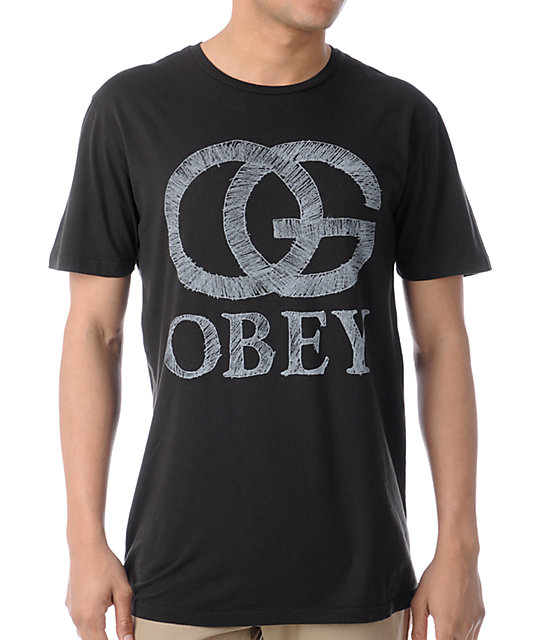 Obey Pencil OG Black T-Shirt