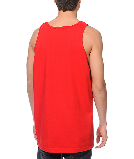 Obey Premium Original Red Tank Top
