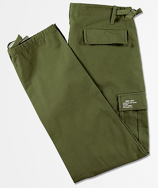 Obey Recon Olive Cargo Pants