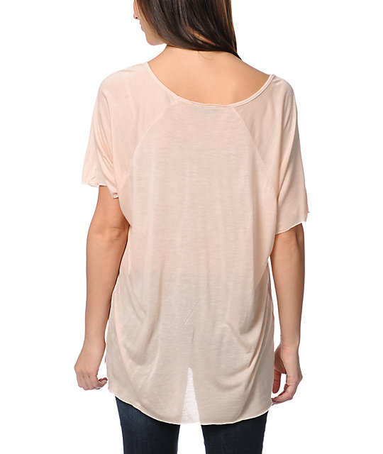 Obey Reincarnation Khaki Harmony Top