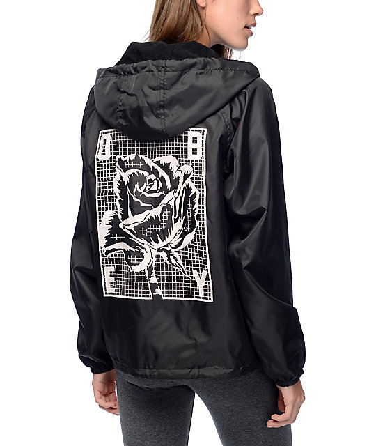 Obey Slacker Hooded Coaches Jacket