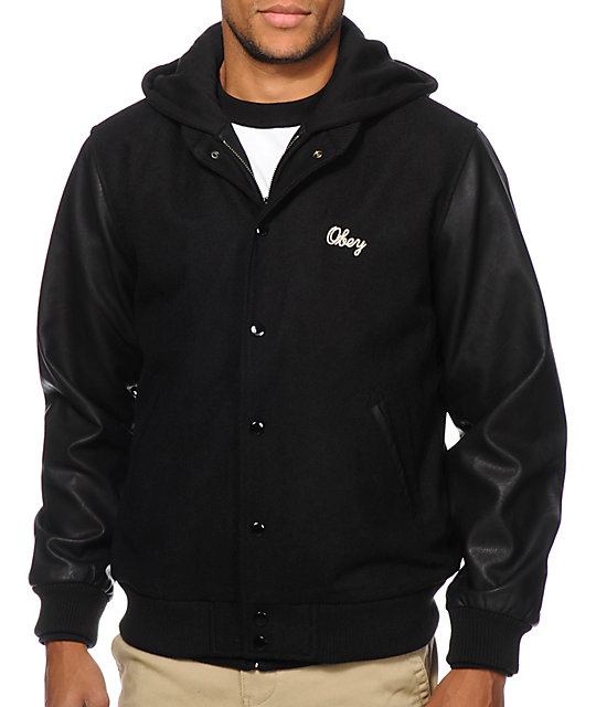 To acquire Hoodie Obey jacket pictures trends