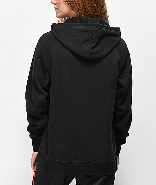 Obey Stacked Propaganda Black Hoodie