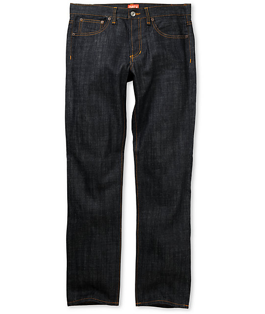 Obey Standard Issue Raw Indigo Regular Fit Jeans