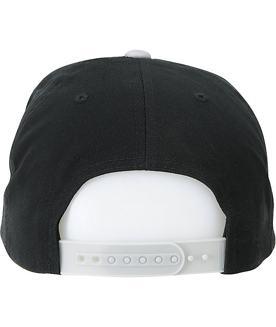 Obey The Great One Black & Grey Snapback Hat