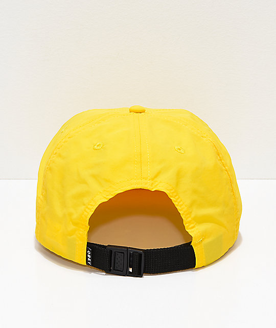 Obey This Fight Lemon Strapback Hat