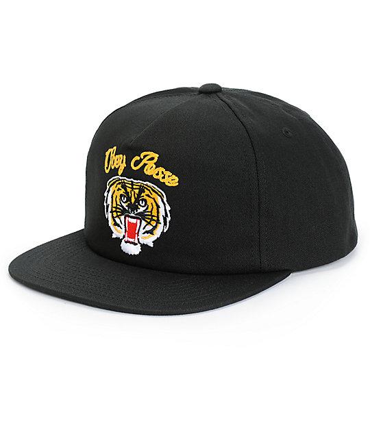 1457e58c1c0 Obey Tiger Snapback Hat