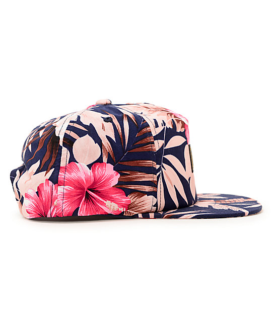... Obey Tropics Floral Snapback Hat a79933112ef9