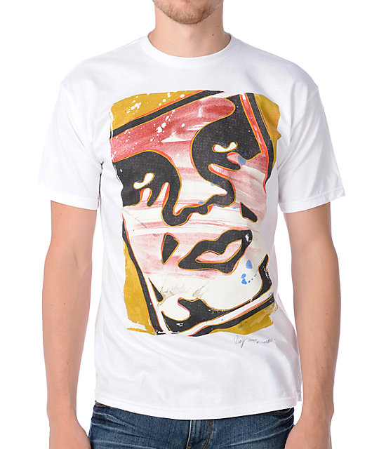 Obey Warhola White T-Shirt