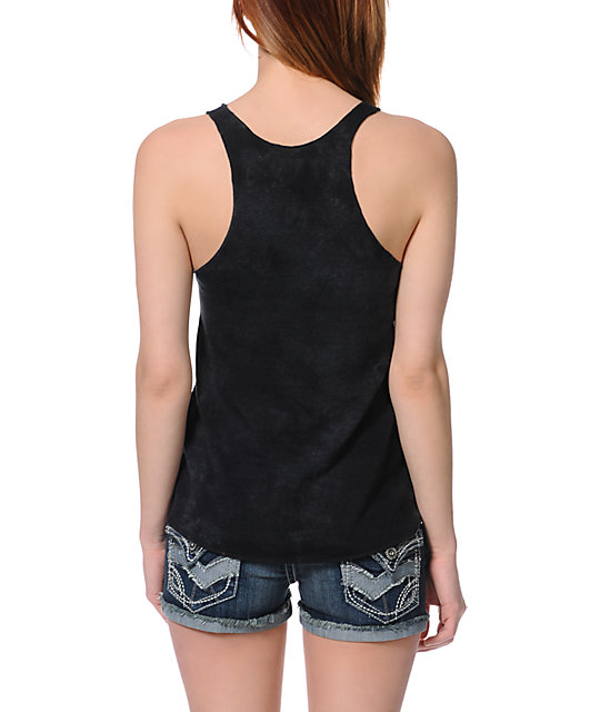 Obey Wasted Youth Black Rocket Tank Top