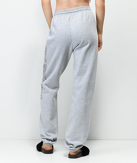 Obey Weekender Grey Jogger Sweatpants