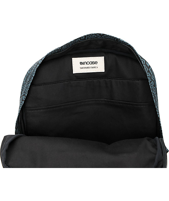 Obey x Incase Black & Grey Campus Backpack
