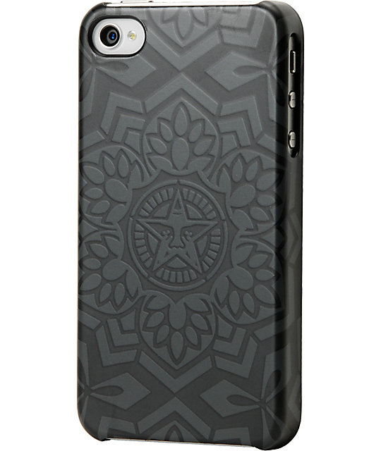 Obey x Incase Yen Pattern Black iPhone Case