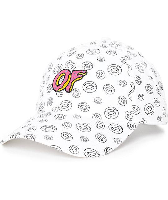 8878e43b6e24c Odd Future All Over Donut Baseball Hat