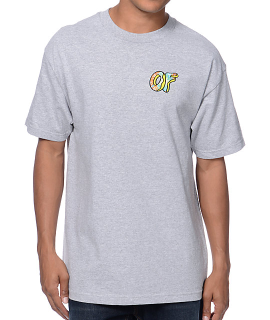 Odd Future Awesome Donut Heather Grey T-Shirt