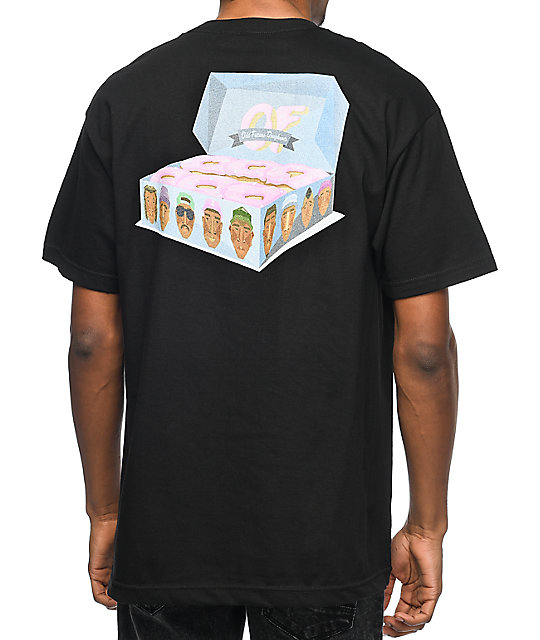 Odd Future Box Of Donuts Black T-Shirt  e5a853153d9