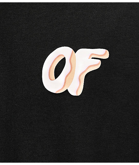 Odd Future Box Of Donuts camiseta negra