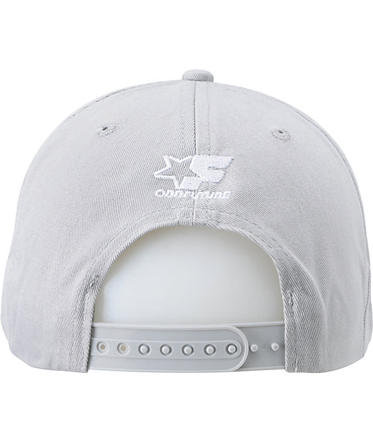 Odd Future Burning Plane Grey Snapback Hat