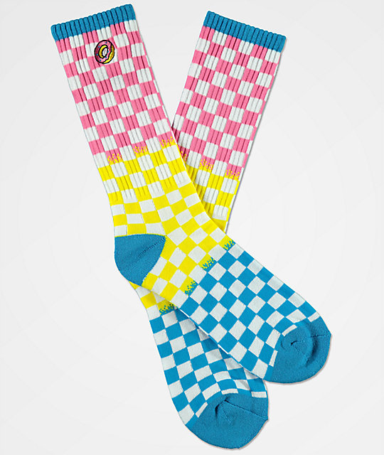 Odd Future Checkered Crew Socks