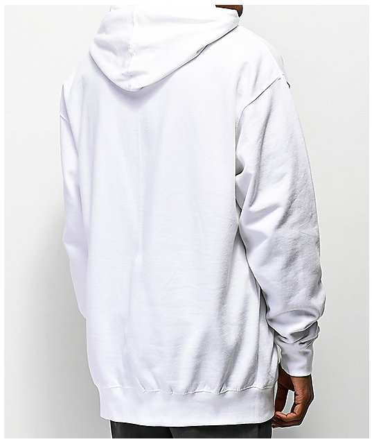 Odd Future Cup White Hoodie