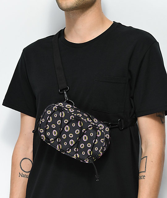 Odd Future Donut Bungee Strap Block Crossbody Bag