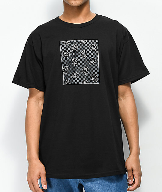 Odd Future Donut Square Fill camiseta negra