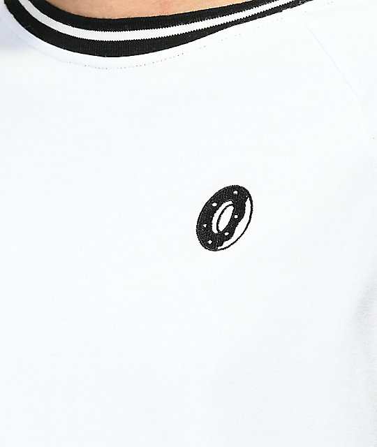 Odd Future Donut Taped Sleeve White T-Shirt