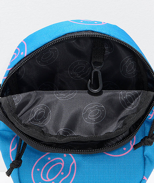 Odd Future Donuts Turquoise Crossbody Bag
