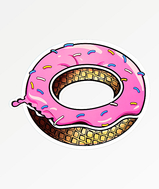 8a704ed6b27b Odd Future Dripping Donut Sticker