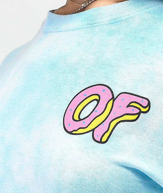Odd Future Frosty Blue Tie Dye T-Shirt