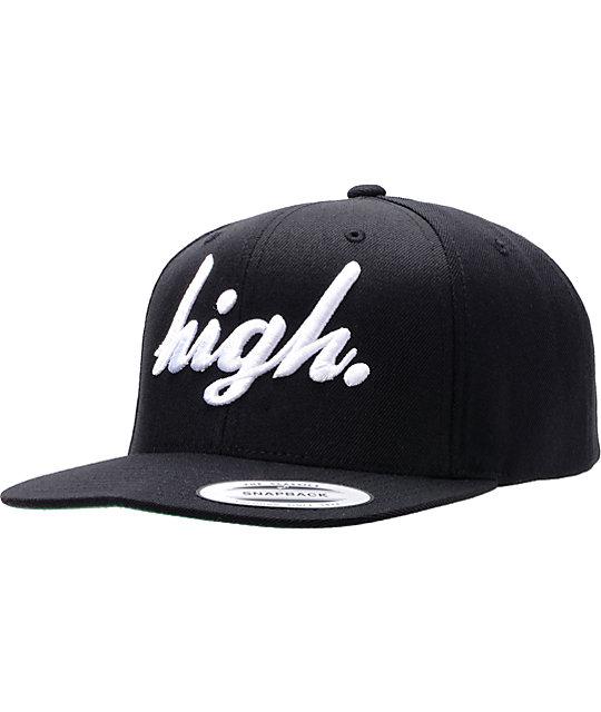 Odd Future High Black Snapback Hat  986889317c6