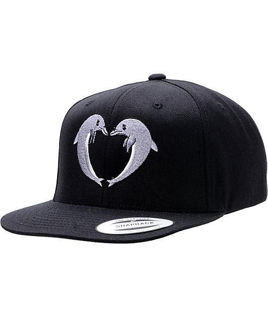 Odd Future Jasper Dolphins Black Snapback Hat  fbd16cbcc06