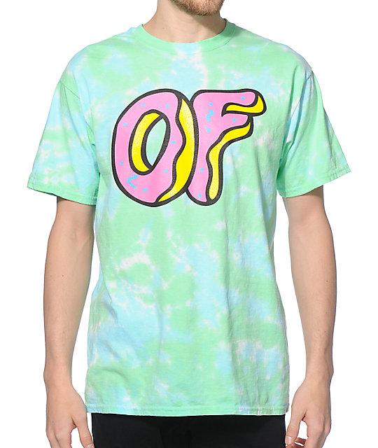 85cc6fad0649 Odd Future OF Logo Tie Dye T-Shirt