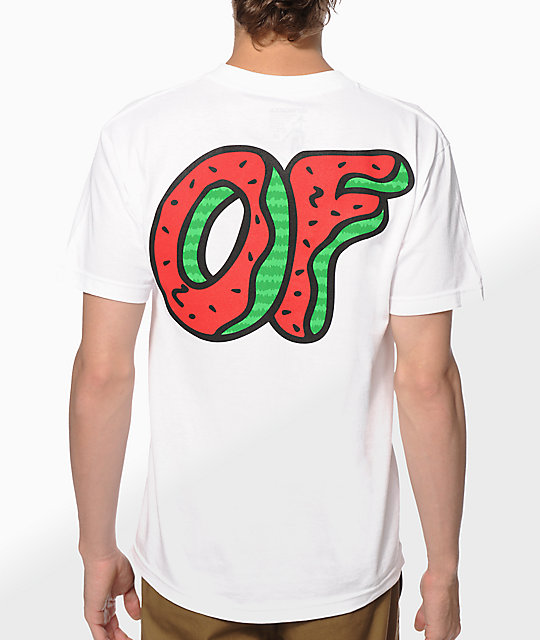 promo code 24ff5 4fd96 Odd Future OF Watermelon Donut T-Shirt