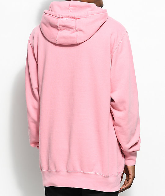 Odd Future Outline Donut Pink Dye Hoodie