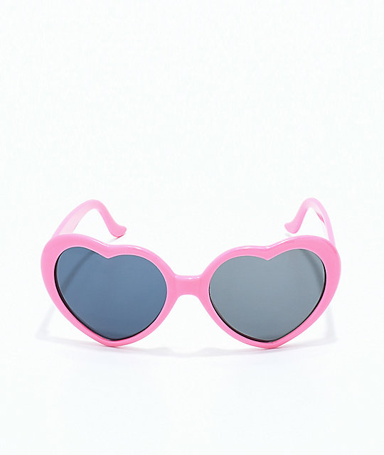 Odd Future Pink Heart Sunglasses