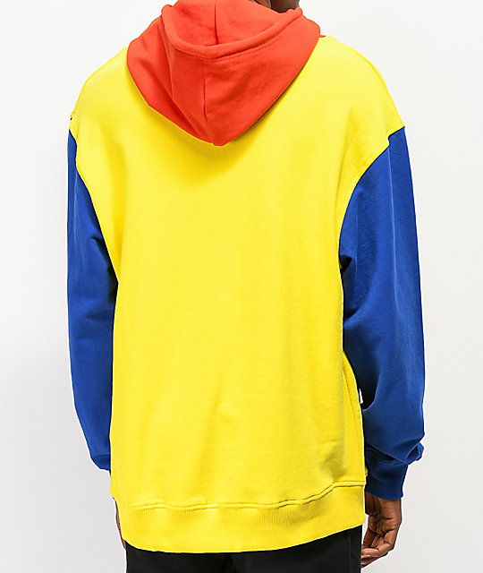 3dbaecad14f436 ... Odd Future Primary Colorblock Hoodie