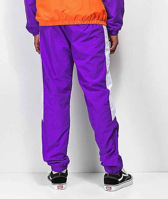 Odd Future Purple Windbreaker Pants