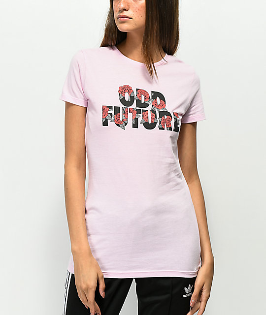 Odd Future Roses Pink T-Shirt