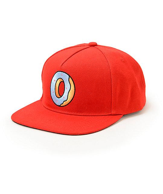 b39e51d78b987 Odd Future Single Donut Snapback Hat