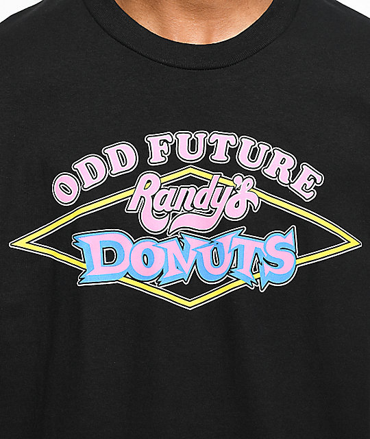 Odd Future X Randy's Shop Sign camiseta negra