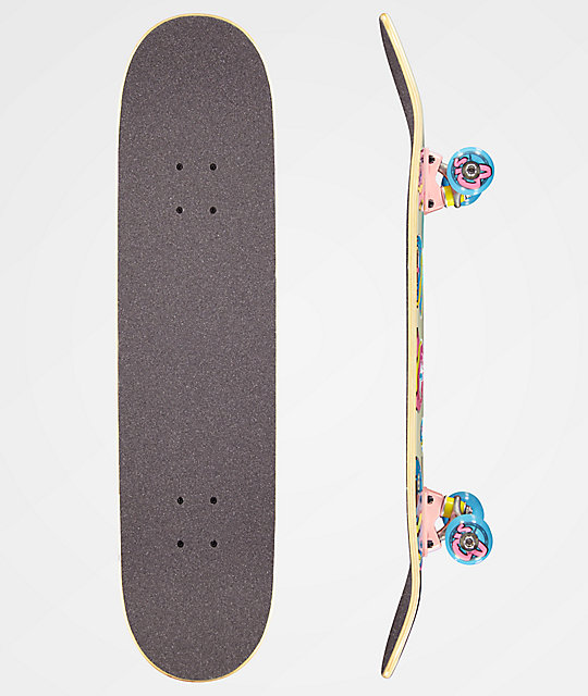 "Odd Future x Santa Cruz Screaming Donut 7.75"" completo de skate"